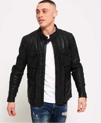 Superdry Leather Rotor Jacket