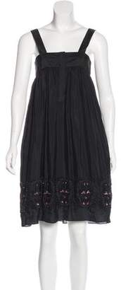 Thomas Wylde Silk Embellished Dress