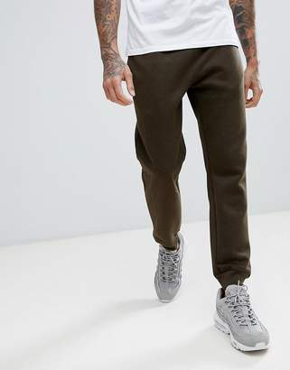 New Look joggers in khaki marl