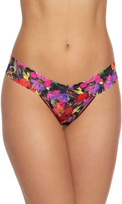 Hanky Panky Summer Nights Floral-Print Thong