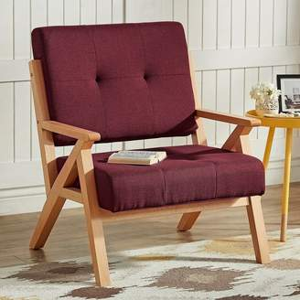 Homevance HomeVance Bobbie Midcentury Lounge Accent Chair