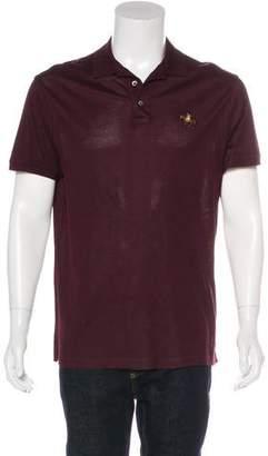 Ralph Lauren Purple Label Coated Piqué Polo