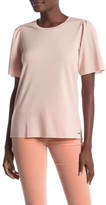 Lucky Brand Puff Sleeve Shirt