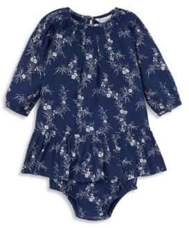 Ralph Lauren Baby Girl's Two-Piece Boho Dress& Bloomers Set