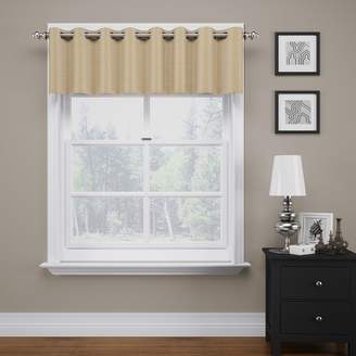 """Eclipse ThermaWeave Bryson Blackout Valance - 18"""" x 52"""""""