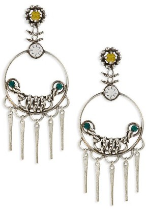 Women's Dannijo Tukker Drop Earrings $370 thestylecure.com