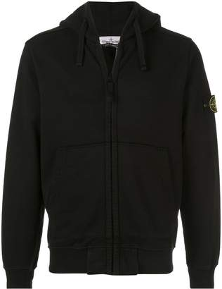 Stone Island zip front hoodie
