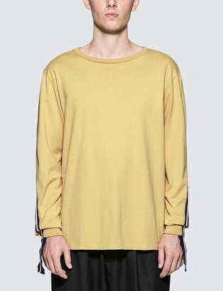 Facetasm Rib Long T-Shirt