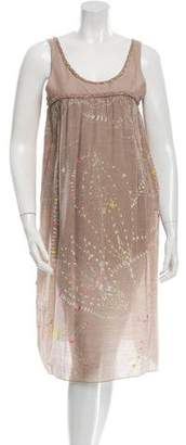 Megan Park Printed Shift Dress w/ Tags