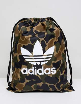 Drawstring Bag In Camo Cd6099