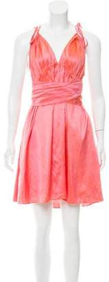 Calypso Silk Mini Dress