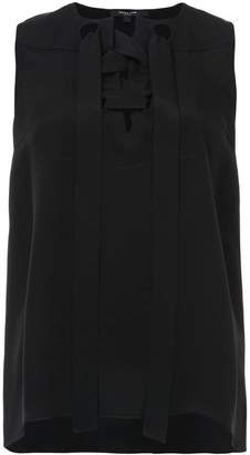 Derek Lam Sleeveless Lace-Up Blouse