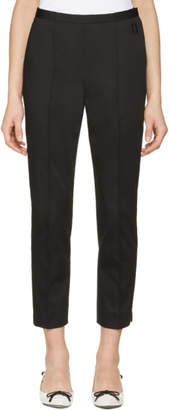 Marc Jacobs Black Double J Cropped Trousers