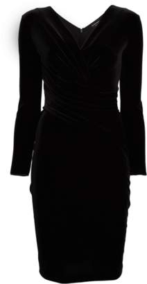 Emporio Armani Velvet Cocktail Dress