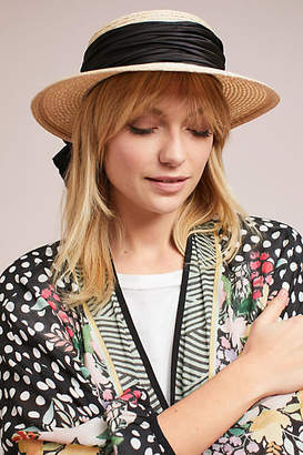 Eugenia Kim Brigette Bow Boater Hat