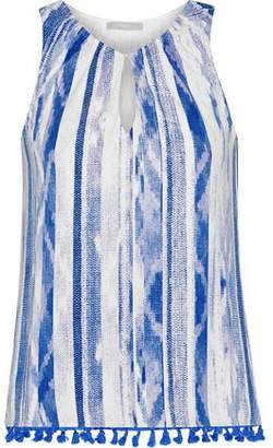 Tart Collections Cari Tassel-Trimmed Stretch-Modal Jersey Top
