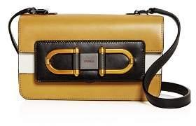 Furla Bellaria Mini Color-Block Leather Crossbody