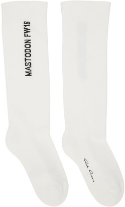 Rick Owens Off-White Mastodon Socks $150 thestylecure.com