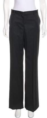 Calvin Klein Collection Wool Mid-Rise Pants