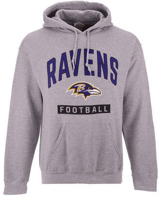 Authentic Nfl Apparel Men Baltimore Ravens Gym Class Hoodie