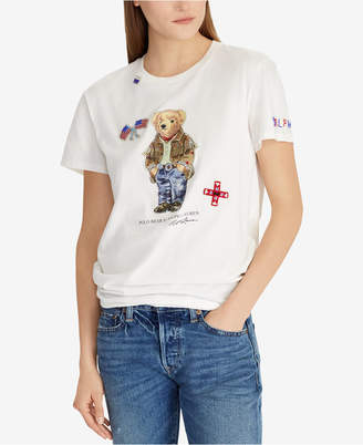 Polo Ralph Lauren Polo Bear Cotton T-Shirt
