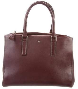 14c419c02a81 Anya Hindmarch Ebury Leather Tote
