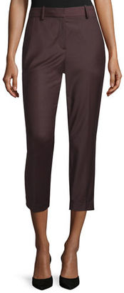 Theory Treeca Cl. Continuous Cropped Pants $315 thestylecure.com