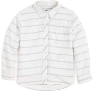 Rails Girls' Stripe Button-Down Shirt - Little Kid, Big Kid