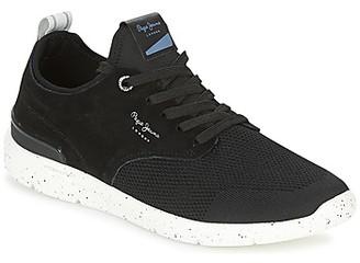 Pepe Jeans JAYDEN TECH men's Shoes (Trainers) in Black
