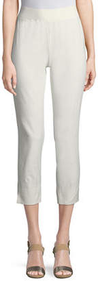 Eileen Fisher Washable Stretch-Crepe Slim Pants