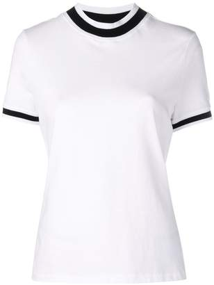 Alexander Wang cropped round neck T-shirt