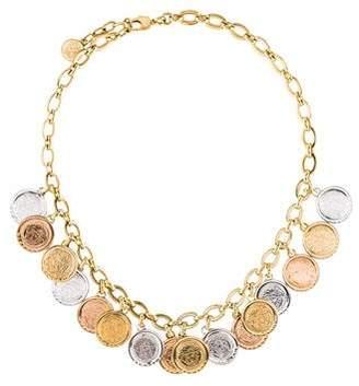 Versace Coin Collar Necklace