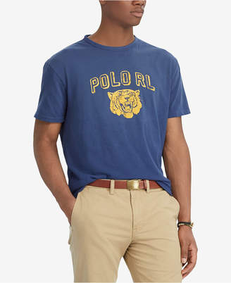 Polo Ralph Lauren Men's Big & Tall Classic Fit Graphic Cotton T-Shirt