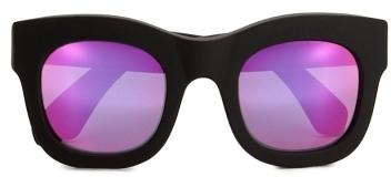 Illesteva Hamilton Matte Black Sunglasses