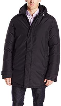 Psycho Bunny Men's The Walker Downfill Coat with Removable Hood