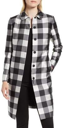 Anne Klein Large Check Coat