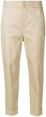 L'Autre Chose cropped slim trousers
