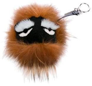 Fendi Fur Kooky Bag Bug Charm