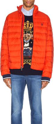 Polo Ralph Lauren Lightweight Packable Down Jacket in Bittersweeet | FWRD