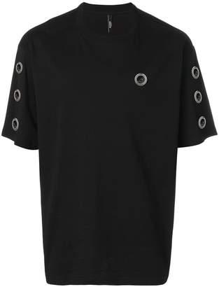 Versus eyelet detail T-shirt
