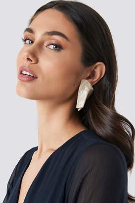 MANGO Pisa Earrings Ivory