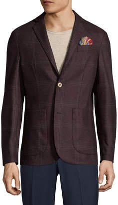 Co Atp & Notch Welt Chest Sportcoat