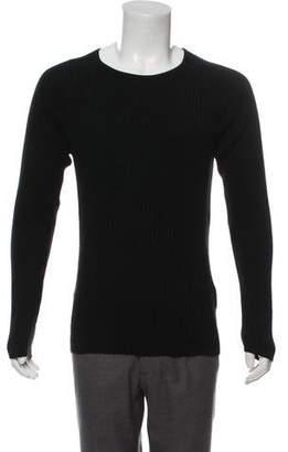 Nudie Jeans Rib Knit Scoop Neck Sweater