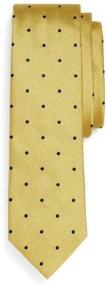 Brooks Brothers Woven Dot Slim Tie
