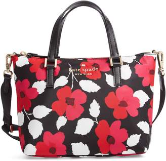 Kate Spade Watson Lane - Lucie Floral Print Crossbody Bag