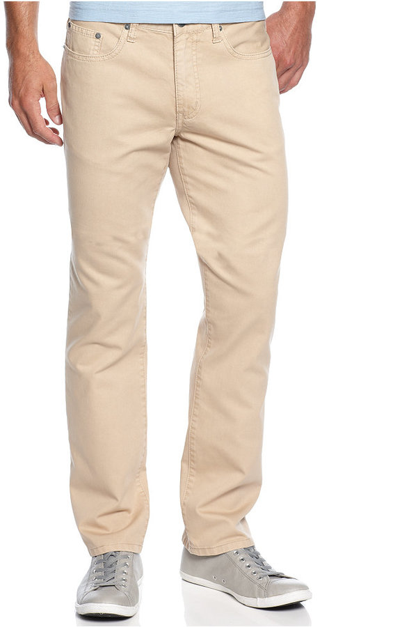 Kenneth Cole Reaction Cotton Twill Jeans