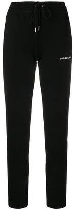 Helmut Lang high-waist track pants