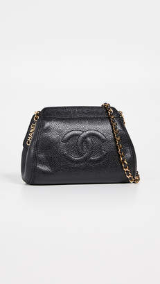 Chanel What Goes Around Comes Around Caviar Mini Shoulder Bag