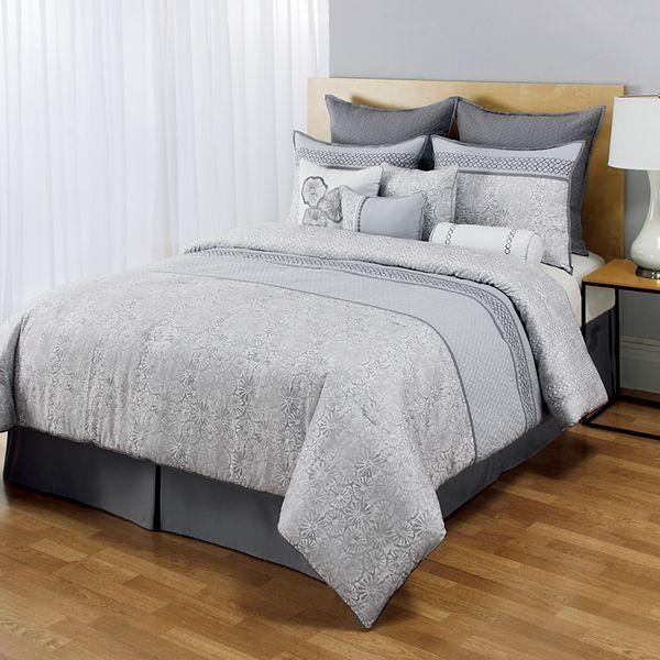 Home classics® juneau 10-pc. reversible comforter set