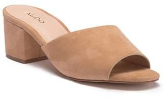 Aldo Kedireclya Block Heel Mule Sandal
